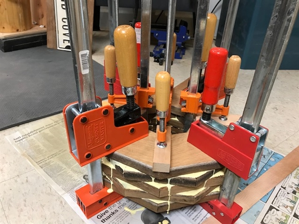 You can never have enough clamps.