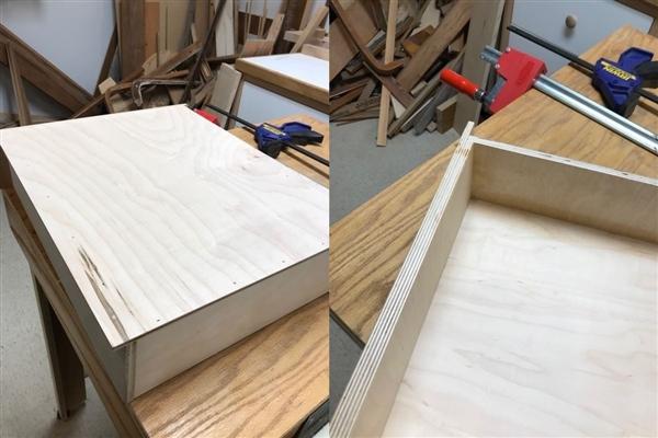 Finished drawer