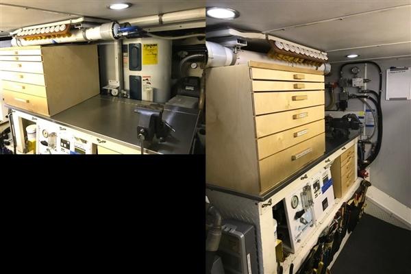 Engine room port side