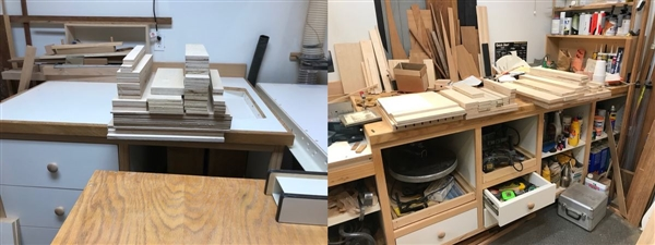Cutting out the Baltic Birch Ply
